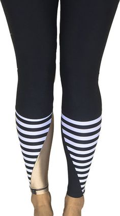 Surf Leggings - Stripe + Gold Dust + Matt Black  SHOP NOW! www.saltgypsy.com #saltgypsy #surfleggings