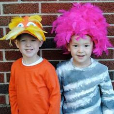 Loads book week costume ideas pinterest lorax costume lorax and twin diy halloween costumes solutioingenieria Choice Image