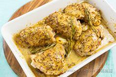 焗芥醬蜜糖雞【認真滋味】 Baked Mustard Honey Chicken from 簡易食譜