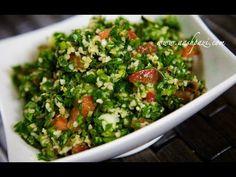 Tabbouleh Recipe (Salad) - YouTube