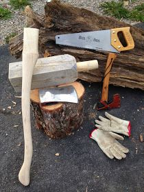 Paracordist Creations LLC: Part II - My First Axe Restoration Projects (Council Tool and Collins Legitimus) http://blog.paracordist.com/2014/05/part-ii-my-first-axe-restoration.html #preppertalk #Preppers #survivalist #bushcraft #paracordist #preparedness #camping #hiking #axe #restoration