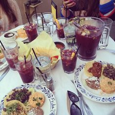 Sangria, lunch at Frida Mexican Cuisine at The Americana at Brand.