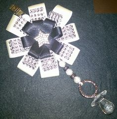 Lovely pram charm made in any 2 colours £20