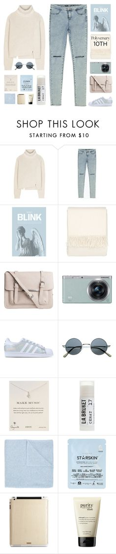 """Celebrate Our 10th Polyversary!"" by amazing-abby ❤ liked on Polyvore featuring Proenza Schouler, Zara, Blink, Bellora, Pieces, Samsung, adidas Originals, Dogeared, Toast and Le Kasha"
