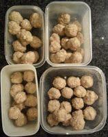 Soepballen - ballen op voorraad