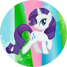 My Little Pony Cores Claras – Kit Completo com molduras para convites, rótulos para guloseimas, lembrancinhas e imagens! | Fazendo a Nossa F...