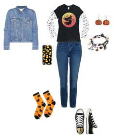 """""""It's beginning to look alot like Halloween"""" by wecomeformthestars ❤ liked on Polyvore featuring Topshop, Casetify, Converse and Acne Studios"""