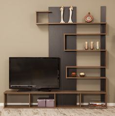 """Jacobsen Entertainment Center for TVs up to 50 """" - Tv wall unit - Tv Unit Decor, Tv Wall Decor, Wall Tv, Tv Cabinet Design, Tv Wall Design, Shelf Design, Tv Wall Cabinets, Tv Unit Furniture, Furniture Stores"""