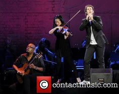 Josh Groban  performs live at The Air Canada Centre during his 'Straight to You Tour' in support of his 2010 album 'Illuminations'. Toronto, Canada - 18.7.11 ...