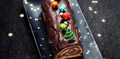 Bûche de Noël au chocolat noir