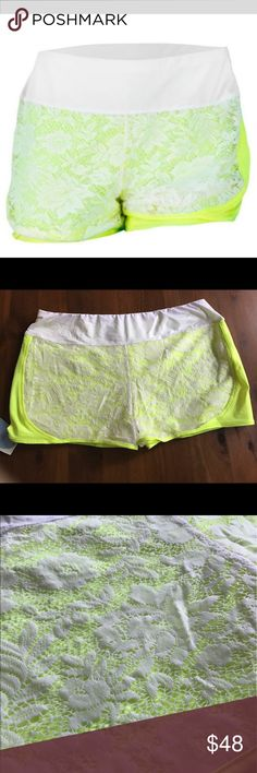Lucky In Love Lace Athletic Shorts NWT Lucky In Love Athletic Lace Shorts. Lucky In Love Shorts