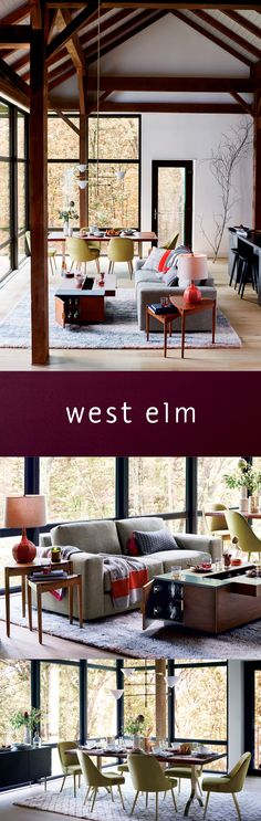 Everything you need for your great indoors. We love the way you live. #westelm