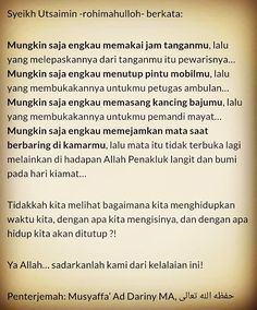 Kelalaian ini... Muslim Quotes, Religious Quotes, Islamic Quotes, Doa Islam, Islam Muslim, Quotes Inspirational, Motivational, Healthy Heart, Be Yourself Quotes