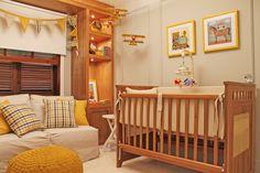 Boy Nursery - Residence in Sao Paulo Brazil  Quarto de Bebe - Residencia em São Paulo