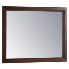 Home Decorators Collection Teasian 26 in. x 31.4 in. Framed Single Wall Mirror in Cognac