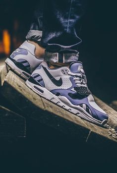 Nike Air Trainer SC II Low: Platinum/Purple