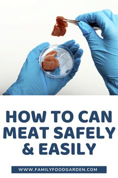 Learn how to can meat safely and easily today! Find out some step-by-step directions photos ingredients recipes and costs of canning meat. Canning Recipes, Kitchen Recipes, Meat Recipes, Family Meals, Kids Meals, Easy Meals, Canned Meat, Homemade Chili, Healthy Fruits