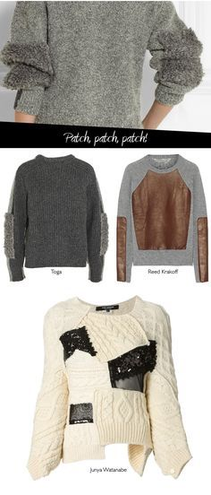 ¿Habéis pensado ya cómo vais a hacer que vuestros jerséis revivan este invierno? Buscando y rebuscando he encontrado unas cuantas propuest...