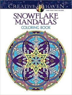 AmazonSmile Creative Haven Snowflake Mandalas Coloring Book Books 9780486803760