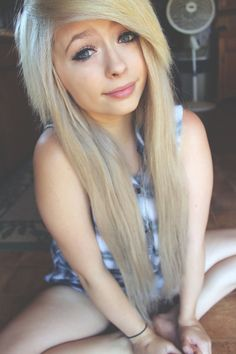 Blonde Scene Hairstyles Tumblr