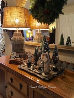 LOVELY (with captions, and no hateful slide show!) ~mgh | Sweet Cottage Dreams: A Cottage Style Christmas - 2015
