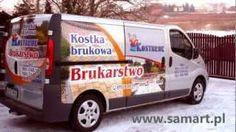Oklejanie pojazdów samochodów. Reklama na samochodach -Pracownia Reklamy SamArt - YouTube Van, Vehicles, Youtube, Rolling Stock, Vans, Vehicle, Vans Outfit, Tools