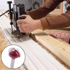 Cutting and Installing Plastic Azek Trim (DIY)   Family Handyman Woodworking Guide, Custom Woodworking, Woodworking Projects Plans, Teds Woodworking, Pvc Trim Boards, Pvc Board, Azek Trim, Vinyl Siding Installation, Trim Carpentry
