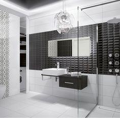 OPOCZNO seria Pret a Porter - łazienka w konwencji BLACK & WHITE.