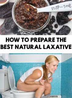 To be constipated is one of the most unpleasant sensation. In this article you will find out how to prepare the best natural laxative very fast and easy!