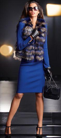 MADELEINE Fur Vest