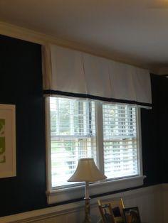 Westhampton DIY: Easy Box Pleat Valances (Convert a Curtain Panel i...