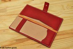 Porta cheque em couro(PC004)