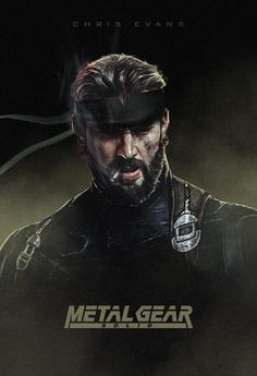 Looks like Chris Evans. Metal Gear Solid.