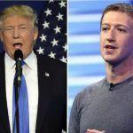 Donald Trump assure que Facebook est anti-Trump et Mark Zuckerberg se défend