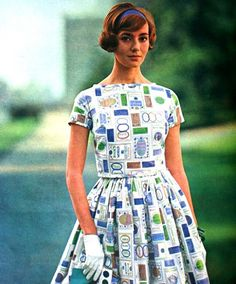 bobbie brooks dress   seventeen, 1961