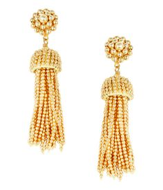 Lisi Lerch - Tassel Earrings - Gold, $98.00 (http://www.lisilerch.com/earrings/tassel-earrings/tassel-earrings-gold/)