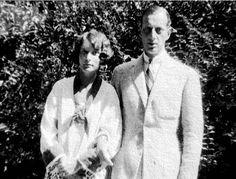 Grand Duke Dmitri with his half sister Princess Irene.