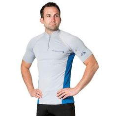 H.MILES Men/'s UV Protection Rash Guard Swim Shirts Short Sleeve Moisture Wicking T-Shirts /…