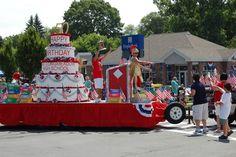 parade float birthday cake - Google Search