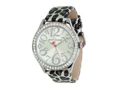Betsey Johnson BJ00131-09 Leather Strap Watch $95