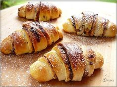 Recipes, bakery, everything related to cooking. Hungarian Desserts, Hungarian Recipes, Hungarian Food, Pastry Recipes, Baking Recipes, Delicious Desserts, Yummy Food, Sweet Buns, Homemade Sweets