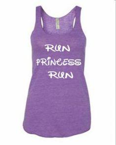 Gift for running princess - Running top - Run Princes Run $24.99