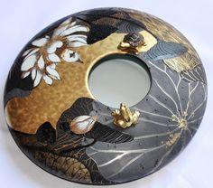 Peinture sur porcelaine: Or mat, couleurs métalliques, objet porcelaine