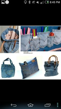 A way to use all my old jeans