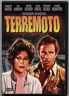 Terremoto (1974) / Mark Robson, con Charlton Heston y Ava Gardner. Signatura CINE (ARQ) 191. Ficha técnica: http://www.filmaffinity.com/es/film819718.html. No catálogo: http://kmelot.biblioteca.udc.es/record=b1429203~S1*gag