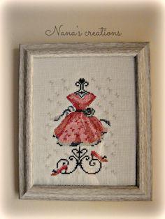 Dress count cross stitch