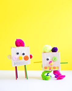 hello, Wonderful - KID-MADE QUIRKY TINKER TOY CREATURES