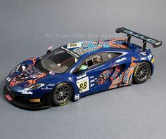 """2013 McLaren 12C GT3 #88 Von Ryan Racing 24 Hours of Spa 1:18 Scale Car.     Manufacturer: Minichamps   Driven by Rob Barff, Chris Goodwin and Bruno Senna.    1:18 Scale Car.  Approximately 10"""" long. No openings.   Limited Edition of 504 pcs made worldwide  Part # 151-131388"""