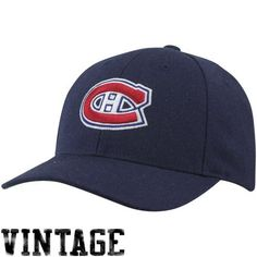 Montreal Canadiens Caps : Mitchell & Ness Montreal Canadiens Vintage Low Profile Coaches Adjustable Hat - Navy Blue by Mitchell & Ness. Save 4 Off!. $25.00. Mitchell & Ness Montreal Canadiens Vintage Low Profile Coaches Adjustable Hat - Navy BlueStructured fitOfficially licensed NHL productAdjustable plastic snap strap100% WoolQuality embroideryImported100% WoolQuality embroideryStructured fitAdjustable plastic snap strapImportedOfficially licensed NHL product