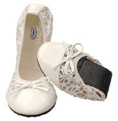 Scholl - New Pocket Ballerina™ 2014 - bianco